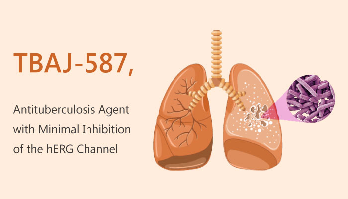 TBAJ 587 Antituberculosis Agent with Minimal Inhibition of hERG Channel 2019 05 02 - TBAJ-587 is a Potent Antituberculosis Agent with Minimal Inhibition of hERG Channel