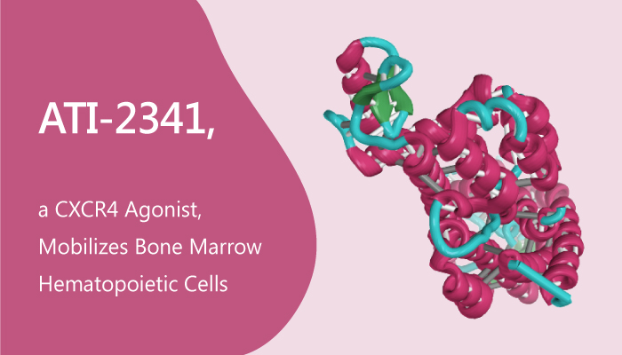 ATI 2341 a CXCR4 Agonist Mobilizes Bone Marrow Hematopoietic Cells 2019 08 18 - ATI-2341, a CXCR4 Agonist, Mobilizes Bone Marrow Hematopoietic Cells