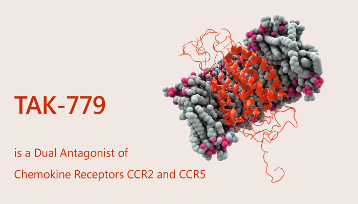 TAK 779 is an Antagonist of CCR5 and CXCR3 with anti HIV 1 Effect 2019 08012 - TAK-779 is an Antagonist of CCR5 and CXCR3, with Anti-HIV-1 Effect