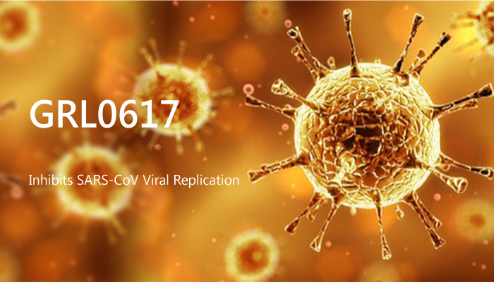 GRL0617 Inhibits SARS CoV Viral Replication 2019 10 06 - GRL0617 Inhibits SARS-CoV Viral Replication