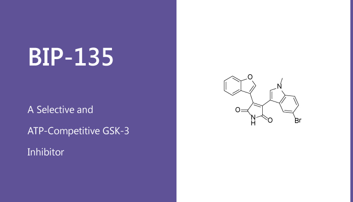 BIP 135 is a Selective and ATP Competitive GSK 3 Inhibitor 2020 01 28 - BIP-135 is a Selective and ATP-Competitive GSK-3 Inhibitor