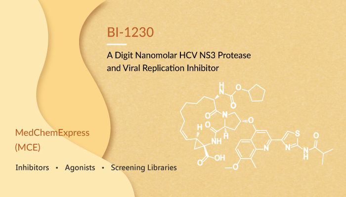 BI 1230 is a Digit Nanomolar HCV NS3 Protease and Viral Replication Inhibitor 2020 02 19 - BI-1230 is a Digit Nanomolar HCV NS3 Protease and Viral Replication Inhibitor