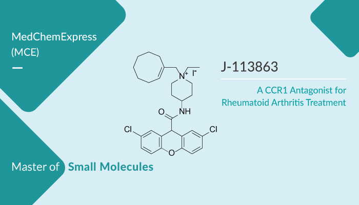 J 113863 is a CCR1 Antagonist for Rheumatoid Arthritis Treatment 2020 02 12 - J-113863 is a CCR1 Antagonist for Rheumatoid Arthritis Treatment
